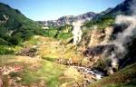 Geothermal springs in the Zhupanova River area of Kamchatka. Image from en.kamchatka.info