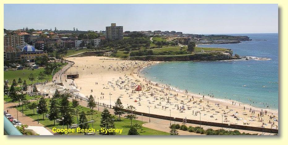 Congee Beach To Bondi Beach Peat O Neil