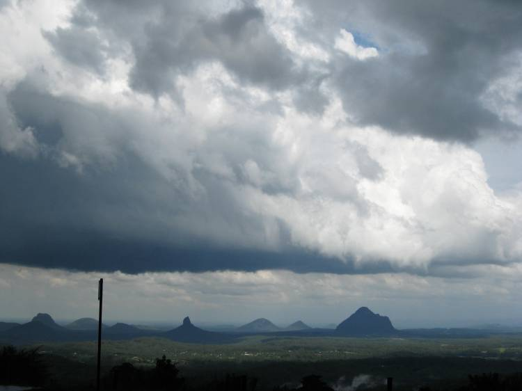 Storm Front Over Glasshouse Mts.