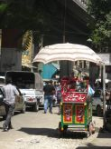 Street vendor near Ramses Station