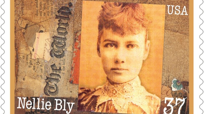 Nellie Bly stamp